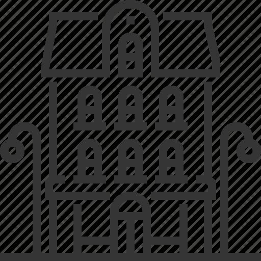 apartment, building, construction, property, rent, sale icon