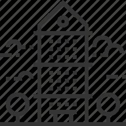apartment, building, construction, property, rent, sale, skyscraper icon