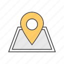 geolocation, location, map, marker, navigation, pin, pointer icon