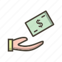 loan, money, mortgage, payment icon
