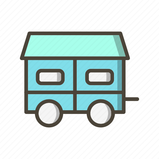 container house, house, mobile icon
