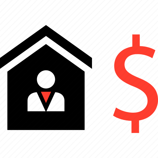 dollar, housing, realestate icon