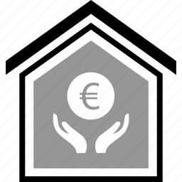 buying, coin, equity, euro icon