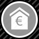 money, equity, euro icon
