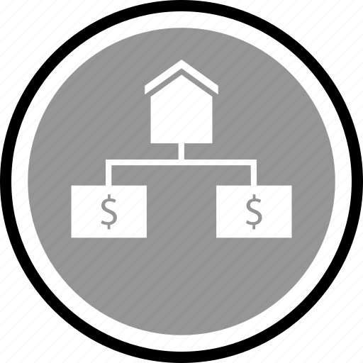 house, realestate, strategy icon