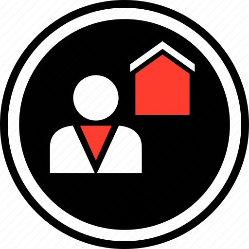 equity, home, realtor icon
