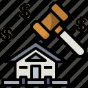 auction, bid, hammer, judge, justice, law, verdict