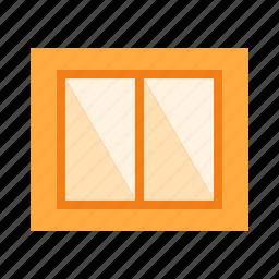 frame, glass, interior, transparent, view, window, windows icon