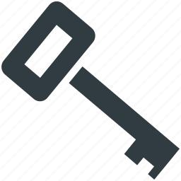 door key, key, protection, room key, security icon