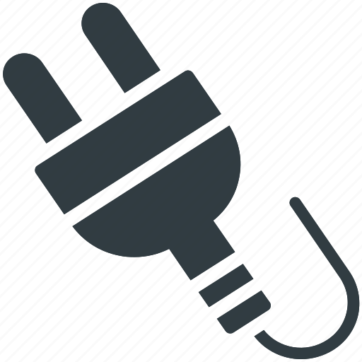 electric plug, electricity, electronic equipment, plug in, power cord, power plug icon