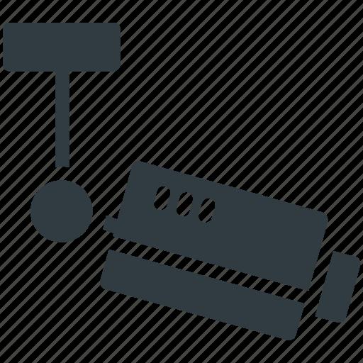 cctv camera, inspection, monitoring, security camera, surveillance icon