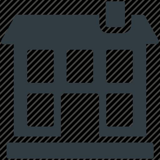 Home, house building, hut, shack, villa icon - Download on Iconfinder