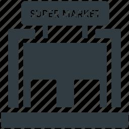 bake shop, emporium, shopping mall, store, supermarket icon