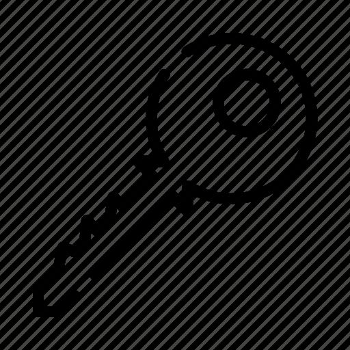 access, key, owner, password, unlock icon