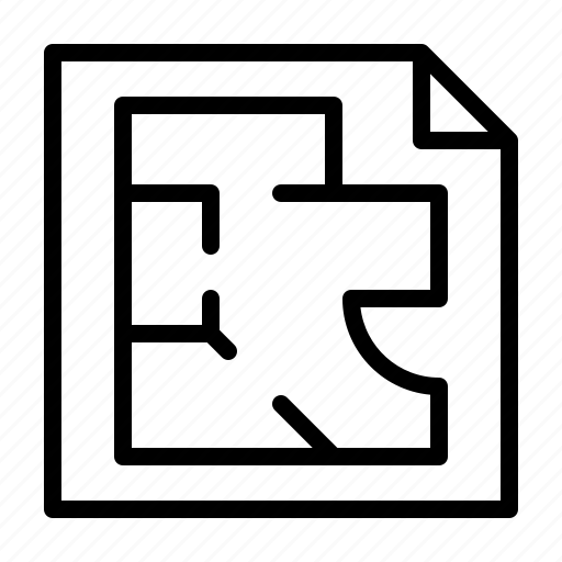 agency, broker, estate, planning, real, service icon