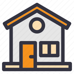 construction, cottage, family, home, house, real estate, residential icon