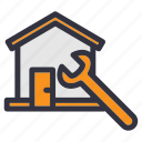 construction, home, house, improvement, maintenance, renovation, repair icon