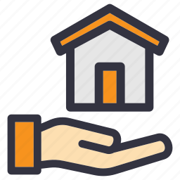 business, estate, home, house, ownership, property, residential icon
