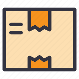 box, delivery, moving, package, packaging, shipping, storage icon