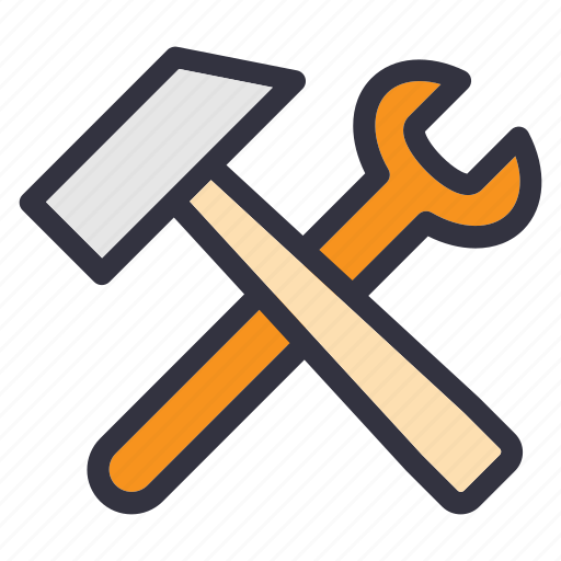 construction, fix, maintenance, repair, service, support, wrench icon