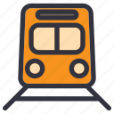 public, traffic, train, transport, transportation, travel, vehicle icon