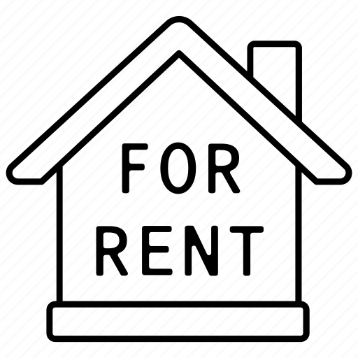 agency, estate, for, house, property, real, rent icon