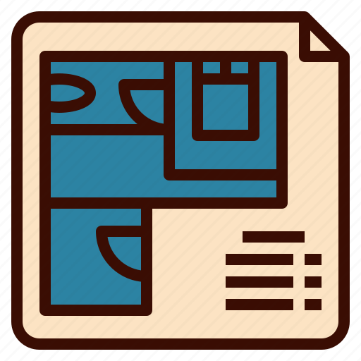 architecture, blue, design, floor, plan, print icon