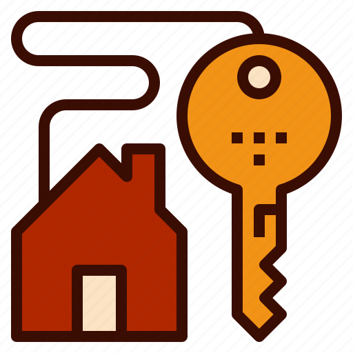 chain, home, house, key, own icon