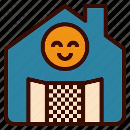 buy, door, house, landlord, open, rent, sell icon