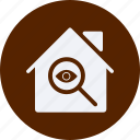 architecture, construction, estate, inspection, property, real, real estate icon