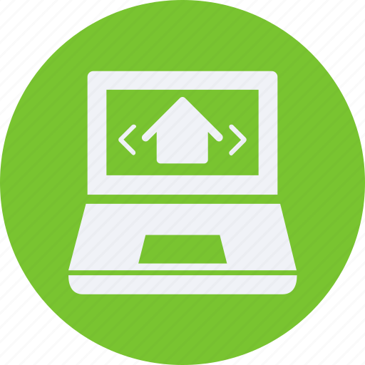 architecture, construction, estate, laptop, property, real, real estate icon
