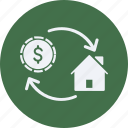 architecture, construction, estate, loan, mortgage, property, real, real estate icon