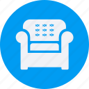 architecture, construction, estate, property, real, real estate, sofa icon