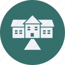 architecture, construction, estate, house, property, real, real estate icon