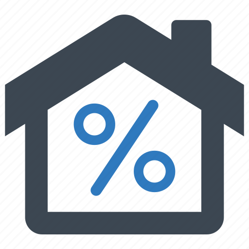 Discount, home, loan icon - Download on Iconfinder