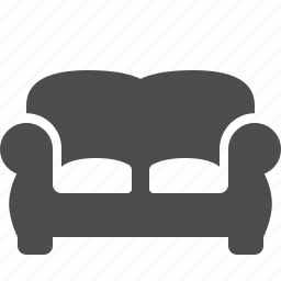 couch, home, living room, room, sofa icon