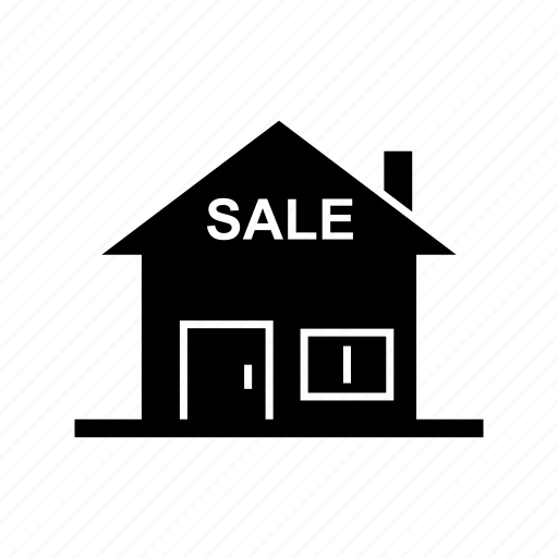 estate, property, real estate, sale houes icon