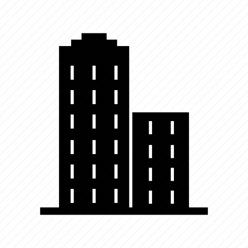 buildings, estate, property, real estate icon