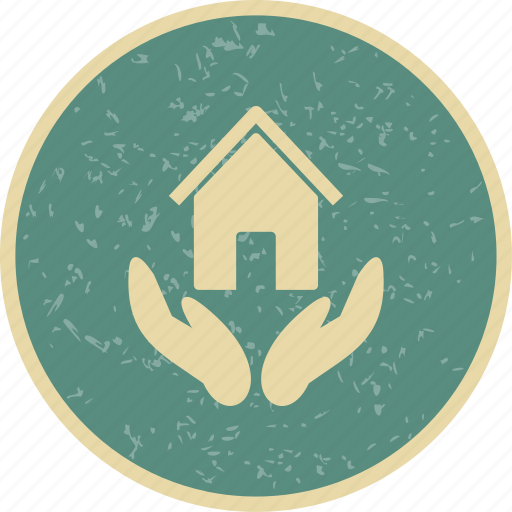 home insurance, house, insurance icon