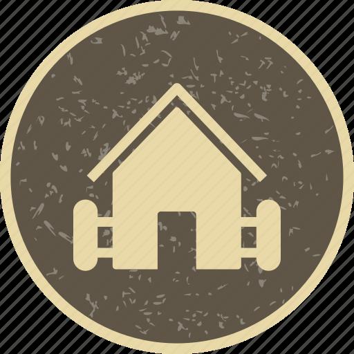 barn, farm, hut icon