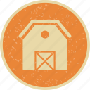 barn, farm, house, stable icon
