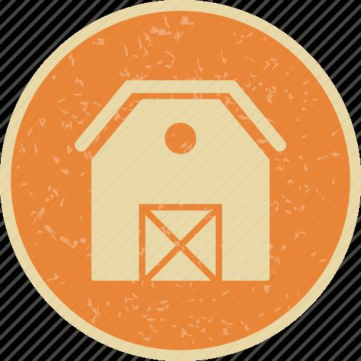barn, farm, stable icon