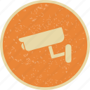camera, cctv, security camera icon