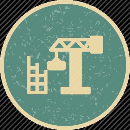 building, construction, site icon