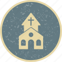 chapel, christian, church icon