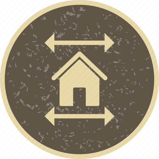 blueprint, house plan, real estate blueprint icon