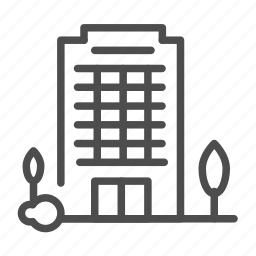 apartment, building, complex, home, house icon