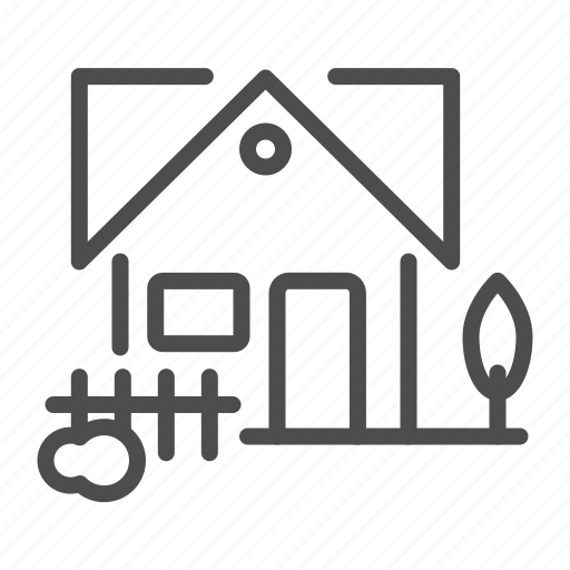 Apartment, building, compound, fence, home, house icon - Download on Iconfinder