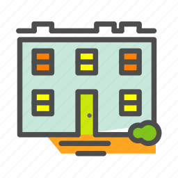 apartment, building, complex, home, house, skyscapper icon
