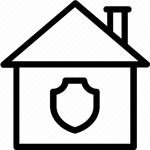 Home, house, protection, secure, security, shield icon icon - Download on Iconfinder